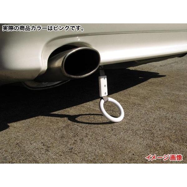 メール便可|ブレイス 旧車・ドリ車に!シャコタン つり革 吊り輪 ピンク丸型 BG-851/|hotroadtirechains|02