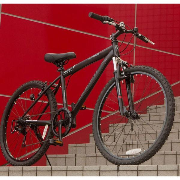 マウンテンバイク26インチ 6段変速自転車 Fサス MTB ハードテイル 街乗り レジャー レッド MYPALLAS/マイパラス 池商 M-620N|hotroadtirechains|04