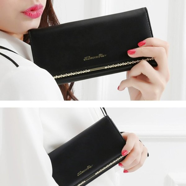 長財布 レディース 財布 二つ折り がま口 小銭入れ 財布 おしゃれ 可愛い 高級 革 PU レザー ウォレット