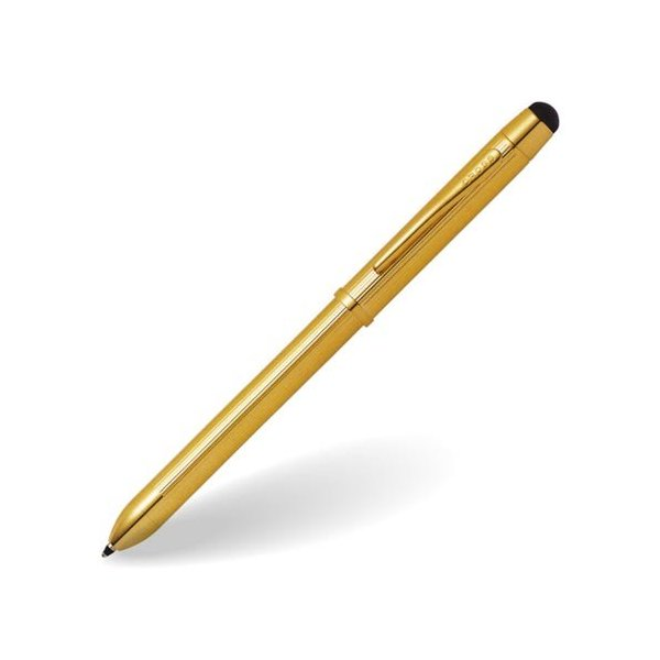 複合ペン クロス CROSS プレシャス テックスリープラス TECH3+ 23金 ゴールドプレート AT0090-12
