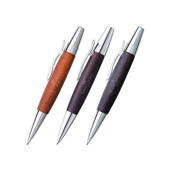 ファーバーカステル FABER-CASTELL デザイン エモーション ウッド&クローム 梨の木 シャープペンシル