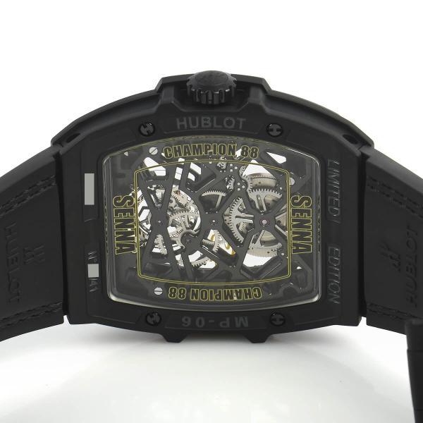 ウブロ マスターピース MP−06 セナ オールブラック 世界限定41本 906.ND.0129.VR.AES12 中古 メンズ 腕時計 houseki-h 05