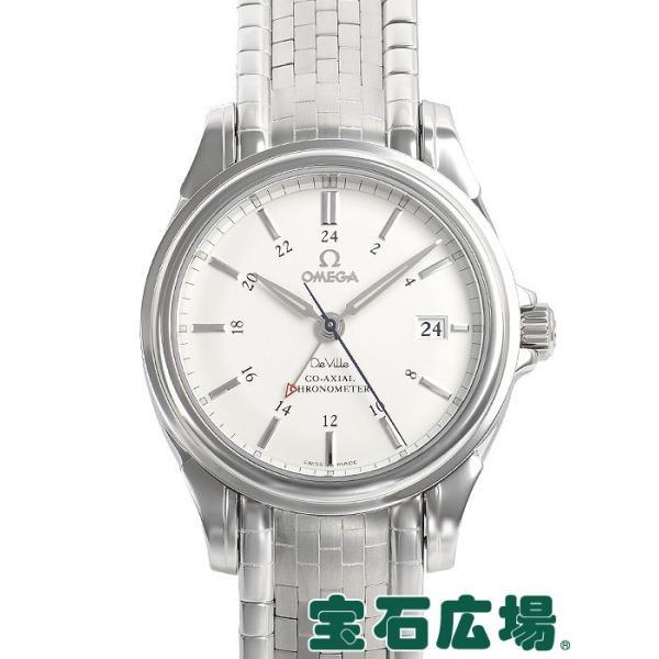 sale retailer dc6f8 8f19c オメガ OMEGA デビル コーアクシャルGMT 4533-31 中古 メンズ 腕時計