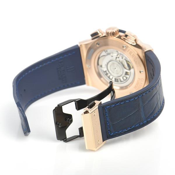 ウブロ HUBLOT クラシックフュージョン ブルー クロノグラフ キングゴールド 521.OX.7180.LR 中古  メンズ 腕時計|houseki-h|05