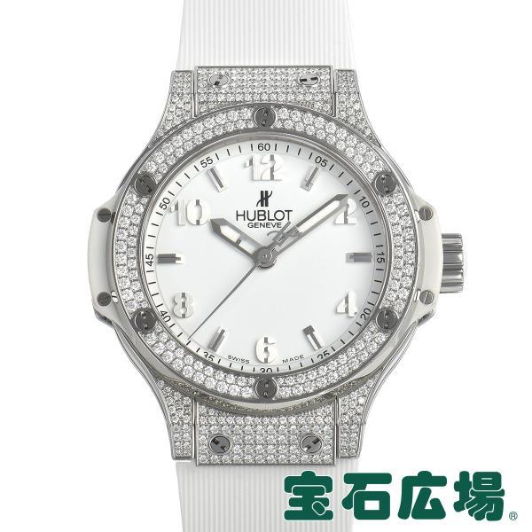 ウブロ HUBLOT ビッグバン38 スティール パヴェ 361.SE.2010.RW.1704 中古 ユニセックス 腕時計|houseki-h