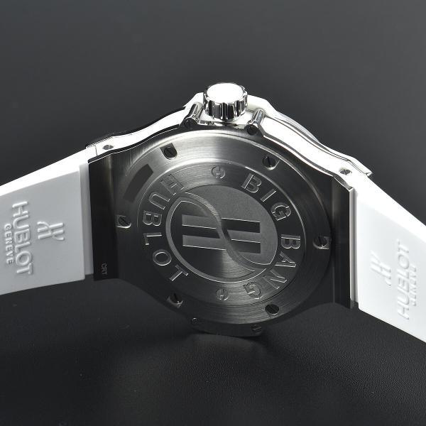 ウブロ HUBLOT ビッグバン38 スティール パヴェ 361.SE.2010.RW.1704 中古 ユニセックス 腕時計|houseki-h|04