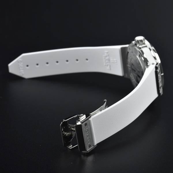 ウブロ HUBLOT ビッグバン38 スティール パヴェ 361.SE.2010.RW.1704 中古 ユニセックス 腕時計|houseki-h|05