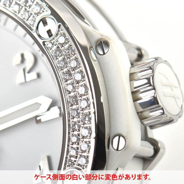 ウブロ HUBLOT ビッグバン38 スティール パヴェ 361.SE.2010.RW.1704 中古 ユニセックス 腕時計|houseki-h|06