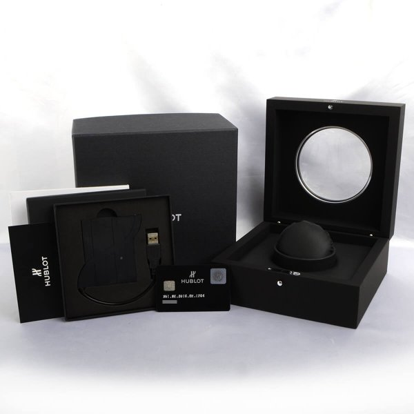 ウブロ HUBLOT ビッグバン38 スティール パヴェ 361.SE.2010.RW.1704 中古 ユニセックス 腕時計|houseki-h|10