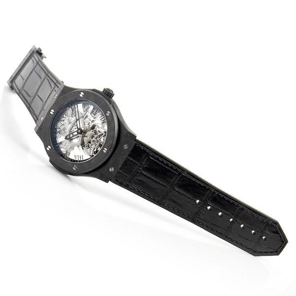ウブロ HUBLOT クラシックフュージョン トゥールビヨン ブラックスカル 世界限定50本 505.UC.0140.LR.SKULL 中古  メンズ 腕時計|houseki-h|03