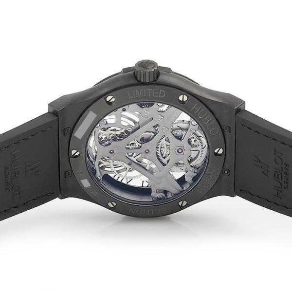 ウブロ HUBLOT クラシックフュージョン トゥールビヨン ブラックスカル 世界限定50本 505.UC.0140.LR.SKULL 中古  メンズ 腕時計|houseki-h|04