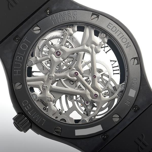 ウブロ HUBLOT クラシックフュージョン トゥールビヨン ブラックスカル 世界限定50本 505.UC.0140.LR.SKULL 中古  メンズ 腕時計|houseki-h|06