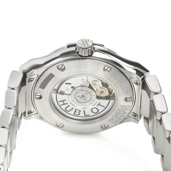 ウブロ HUBLOT クラシックフュージョン チタニウム ライトブルー ブレスレット 585.NX.891L.NX.1204 中古 レディース 腕時計|houseki-h|04