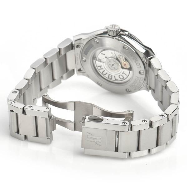 ウブロ HUBLOT クラシックフュージョン チタニウム ライトブルー ブレスレット 585.NX.891L.NX.1204 中古 レディース 腕時計|houseki-h|05
