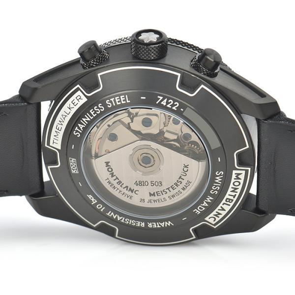 78224c7602 ... モンブラン MONTBLANC タイムウォーカー クロノグラフ UTC 116102 中古 メンズ 腕時計|houseki-h ...