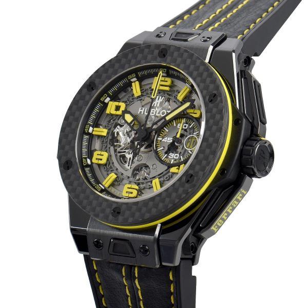 ウブロ HUBLOT ビッグバン フェラーリ セラミック 世界限定1000本 401.CQ.0129.VR 中古 メンズ 腕時計|houseki-h|02