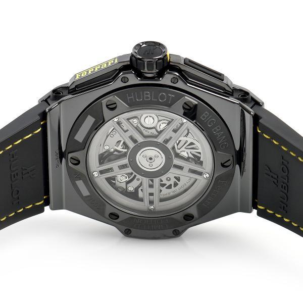 ウブロ HUBLOT ビッグバン フェラーリ セラミック 世界限定1000本 401.CQ.0129.VR 中古 メンズ 腕時計|houseki-h|04