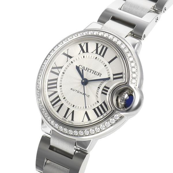 カルティエ バロンブルー 33mm W4BB0016 新品 レディース 腕時計