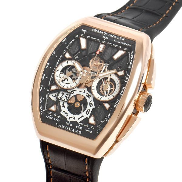 フランクミュラー FRANCK MULLER ヴァンガード グランデイト V45CCGD SQT 5N BR NR 新品 メンズ 腕時計|houseki-h|02