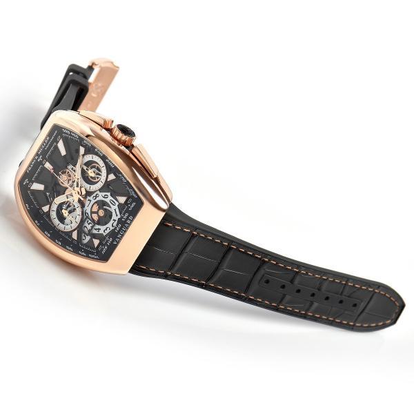 フランクミュラー FRANCK MULLER ヴァンガード グランデイト V45CCGD SQT 5N BR NR 新品 メンズ 腕時計|houseki-h|03
