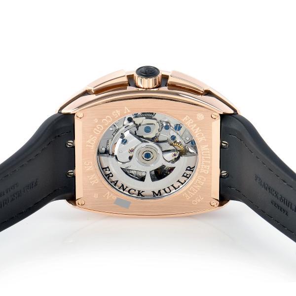フランクミュラー FRANCK MULLER ヴァンガード グランデイト V45CCGD SQT 5N BR NR 新品 メンズ 腕時計|houseki-h|04