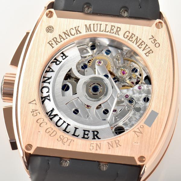 フランクミュラー FRANCK MULLER ヴァンガード グランデイト V45CCGD SQT 5N BR NR 新品 メンズ 腕時計|houseki-h|06
