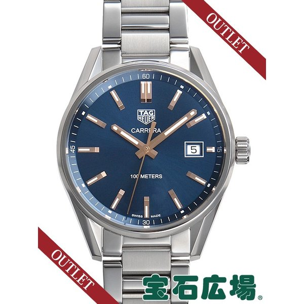 san francisco 85103 aab1f タグ・ホイヤー カレラ ローズゴールドアクセント WAR1112.BA0601 新品 アウトレット メンズ 腕時計