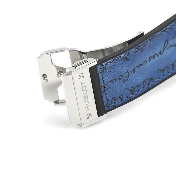 ウブロ HUBLOT クラシックフュージョン クロノグラフ ベルルッティ スクリットオーシャンブルー 限定生産250本 521.NX.050B.VR.BER18 新品  メンズ 腕時計|houseki-h|05