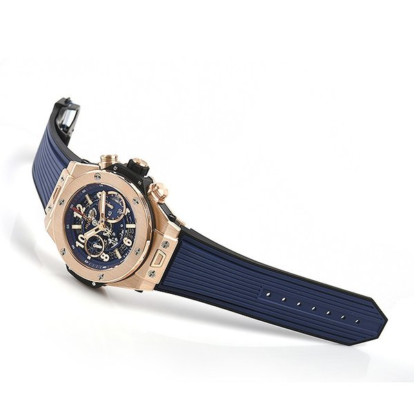 ウブロ HUBLOT ビッグバン ウニコ キングゴールド ブルー 411.OX.5189.RX 新品  メンズ 腕時計|houseki-h|03