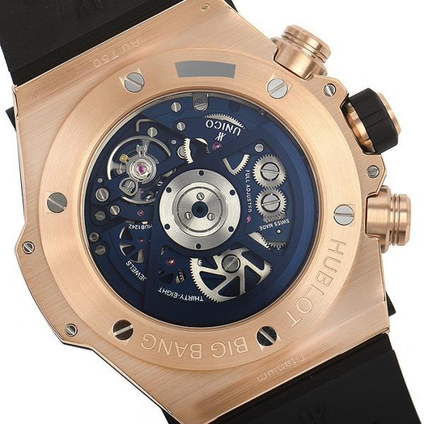 ウブロ HUBLOT ビッグバン ウニコ キングゴールド ブルー 411.OX.5189.RX 新品  メンズ 腕時計|houseki-h|06