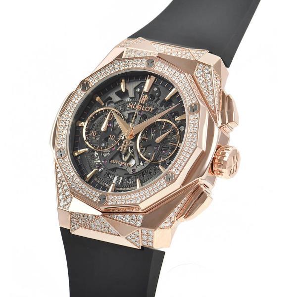 ウブロ HUBLOT アエロフュージョン オーリンスキー キングゴールド オルタナティヴ パヴェ 525.OX.0180.RX.1804.ORL19 新品 メンズ 腕時計|houseki-h|02