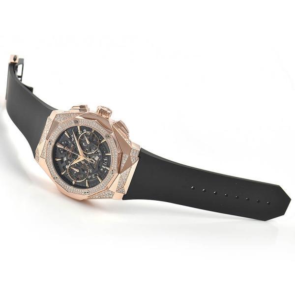 ウブロ HUBLOT アエロフュージョン オーリンスキー キングゴールド オルタナティヴ パヴェ 525.OX.0180.RX.1804.ORL19 新品 メンズ 腕時計|houseki-h|03