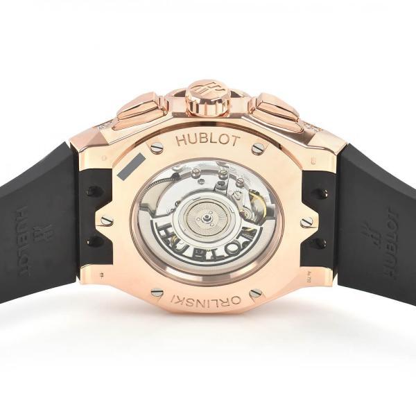 ウブロ HUBLOT アエロフュージョン オーリンスキー キングゴールド オルタナティヴ パヴェ 525.OX.0180.RX.1804.ORL19 新品 メンズ 腕時計|houseki-h|04