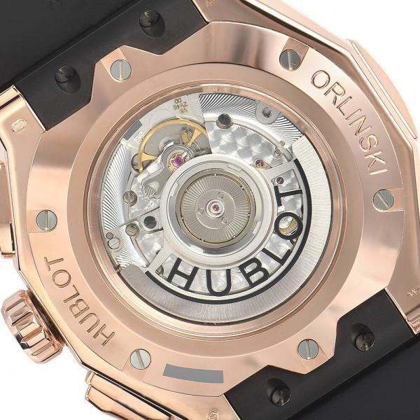 ウブロ HUBLOT アエロフュージョン オーリンスキー キングゴールド オルタナティヴ パヴェ 525.OX.0180.RX.1804.ORL19 新品 メンズ 腕時計|houseki-h|06