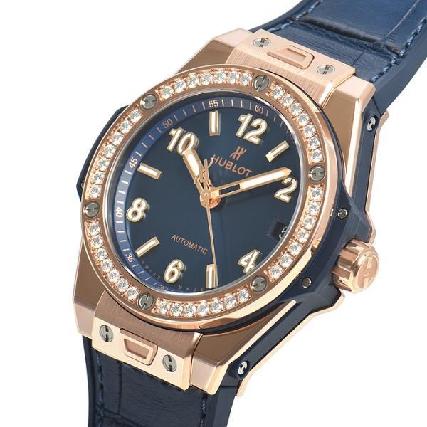 ウブロ HUBLOT ビッグバン ワンクリック キングゴールド ブルー ダイヤモンド 465.OX.7180.LR.1204 新品 ユニセックス 腕時計|houseki-h|02