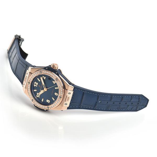 ウブロ HUBLOT ビッグバン ワンクリック キングゴールド ブルー ダイヤモンド 465.OX.7180.LR.1204 新品 ユニセックス 腕時計|houseki-h|03