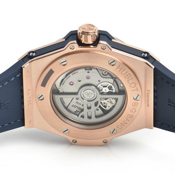 ウブロ HUBLOT ビッグバン ワンクリック キングゴールド ブルー ダイヤモンド 465.OX.7180.LR.1204 新品 ユニセックス 腕時計|houseki-h|04