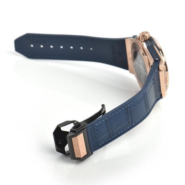 ウブロ HUBLOT ビッグバン ワンクリック キングゴールド ブルー ダイヤモンド 465.OX.7180.LR.1204 新品 ユニセックス 腕時計|houseki-h|05
