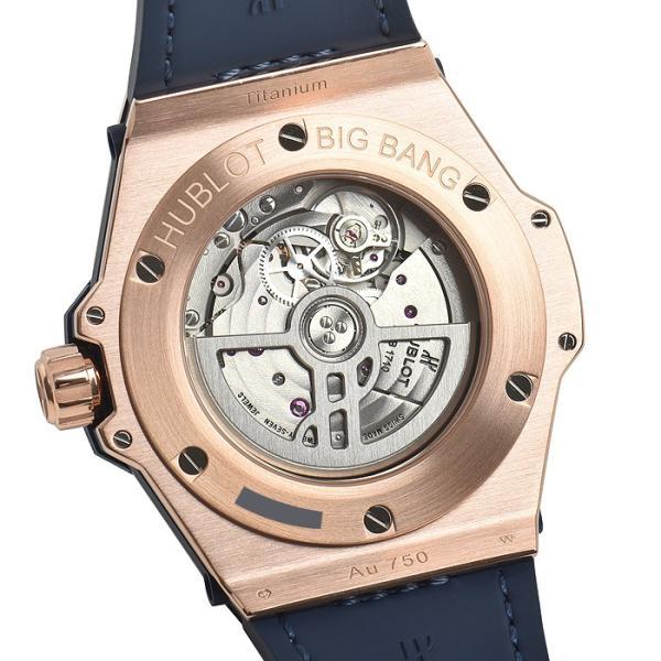 ウブロ HUBLOT ビッグバン ワンクリック キングゴールド ブルー ダイヤモンド 465.OX.7180.LR.1204 新品 ユニセックス 腕時計|houseki-h|06