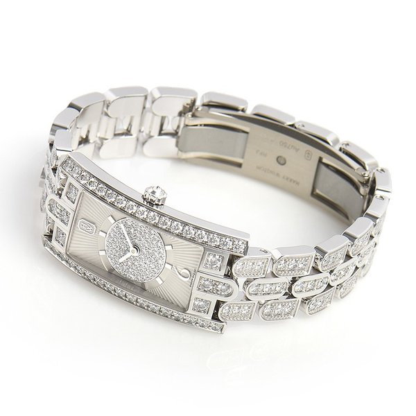 ハリー・ウィンストン HARRY WINSTON レディーアヴェニューC アールデコ AVCQHM19WW135 新品  レディース 腕時計