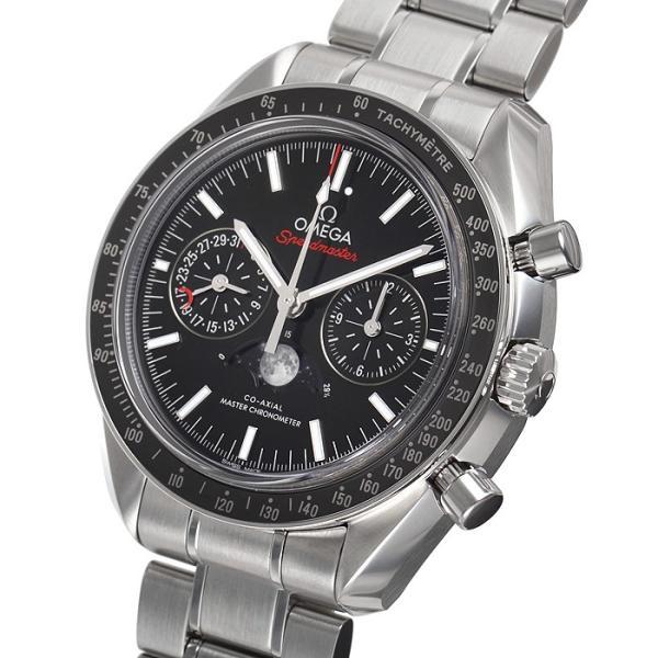 オメガ OMEGA スピードマスター ムーンフェイズ コーアクシャル マスタークロノメーター 304.30.44.52.01.001 新品 メンズ 腕時計|houseki-h|02