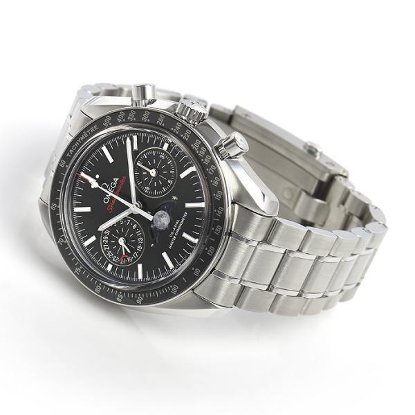 オメガ OMEGA スピードマスター ムーンフェイズ コーアクシャル マスタークロノメーター 304.30.44.52.01.001 新品 メンズ 腕時計|houseki-h|03