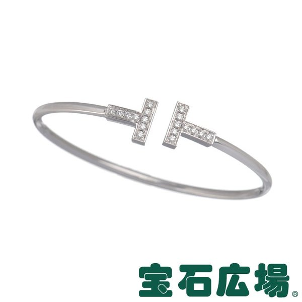 ティファニー Tワイヤー ダイヤ ブレスレット(S) 33450915 新品 ジュエリー