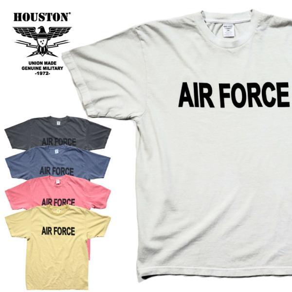 HOUSTON / ヒューストン 21812 PIGMENT TEE (AIR FORCE)/ ピグメント半袖Tシャツ(エアフォース) -全5色-|houston-1972
