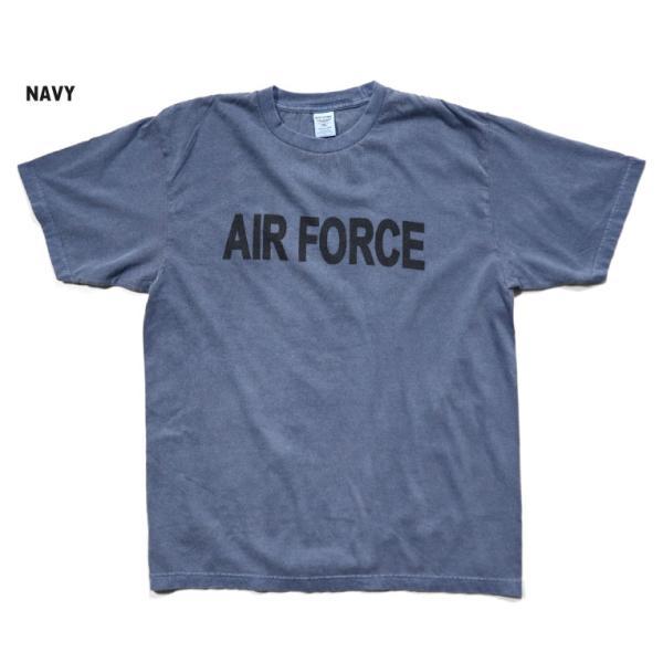 HOUSTON / ヒューストン 21812 PIGMENT TEE (AIR FORCE)/ ピグメント半袖Tシャツ(エアフォース) -全5色-|houston-1972|07