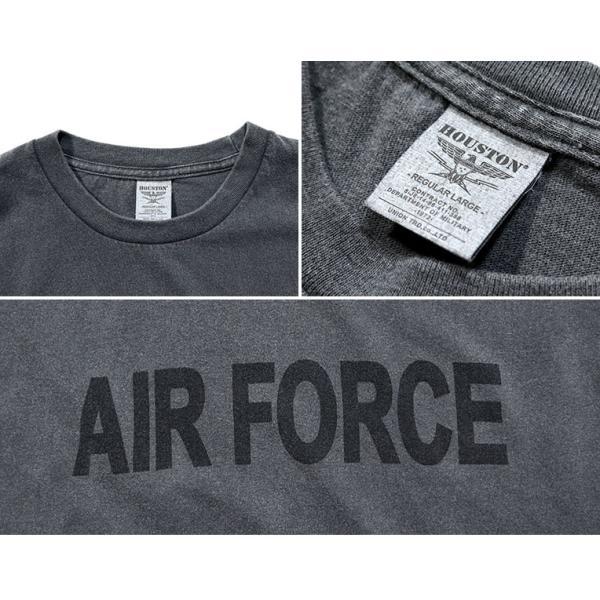 HOUSTON / ヒューストン 21812 PIGMENT TEE (AIR FORCE)/ ピグメント半袖Tシャツ(エアフォース) -全5色-|houston-1972|10