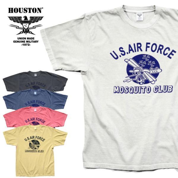 HOUSTON / ヒューストン 21814 PIGMENT TEE (MOSQUITO)/ ピグメント半袖Tシャツ(モスキート) -全5色- houston-1972