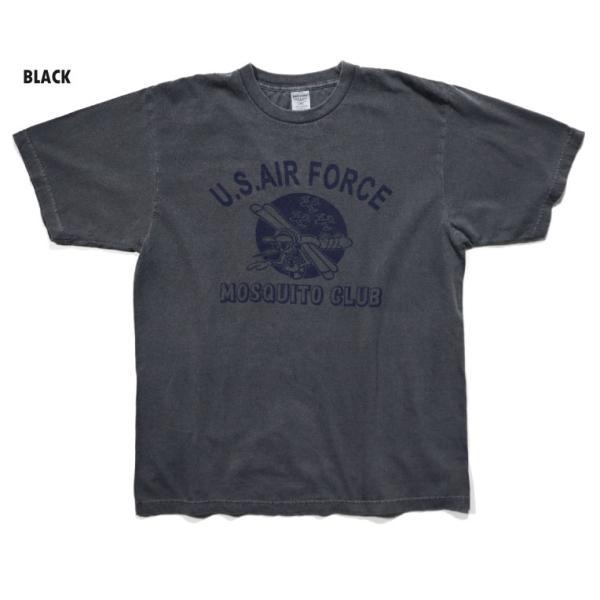 HOUSTON / ヒューストン 21814 PIGMENT TEE (MOSQUITO)/ ピグメント半袖Tシャツ(モスキート) -全5色- houston-1972 05