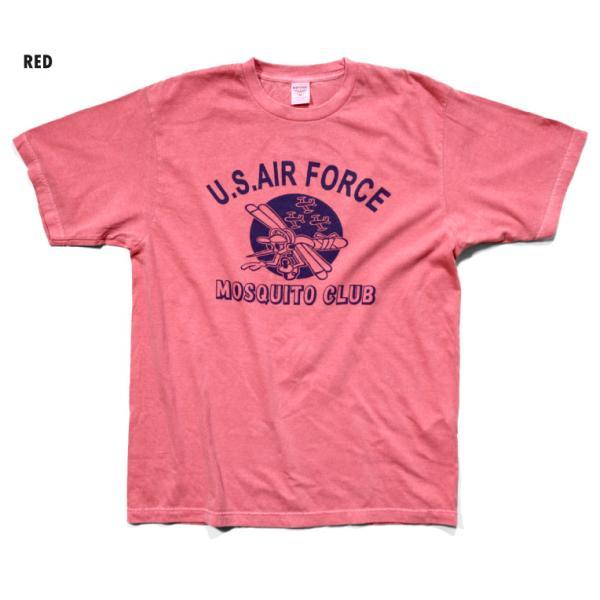 HOUSTON / ヒューストン 21814 PIGMENT TEE (MOSQUITO)/ ピグメント半袖Tシャツ(モスキート) -全5色- houston-1972 08