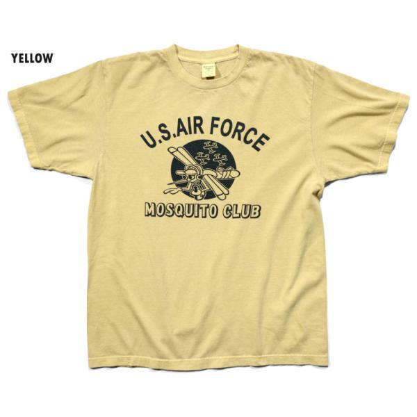 HOUSTON / ヒューストン 21814 PIGMENT TEE (MOSQUITO)/ ピグメント半袖Tシャツ(モスキート) -全5色- houston-1972 09